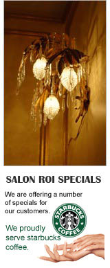 Beauty Salon Roi Specials